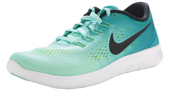 Nike Free RN Shoes Women hyper turqoise/black-rio teal-volt